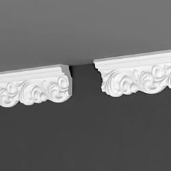 Купить плинтус потолочный де-бегет дп 02/60 длина 2 м по низкой цене - доставка в Домодедово, Видное, Подольск